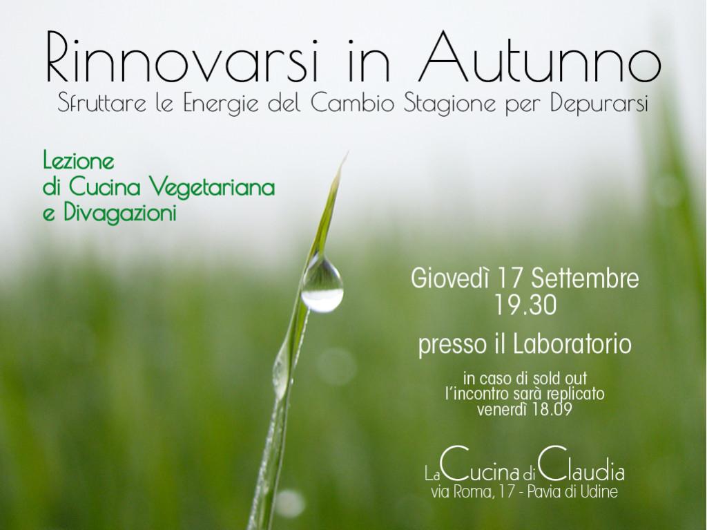 Lezione cucina vegetariana La cucina di Claudia Pavia di Udine