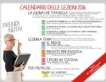 Programma delle Lezioni 2016