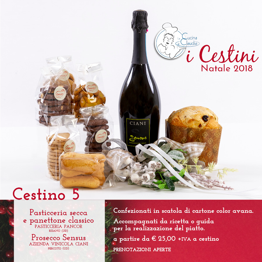 Cestini Natale La Cucina di Claudia Pavia di Udine - La ...