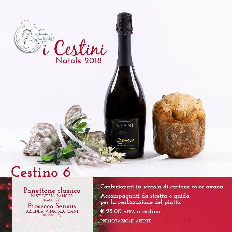 Cestini Natale La Cucina di Claudia Pavia di Udine