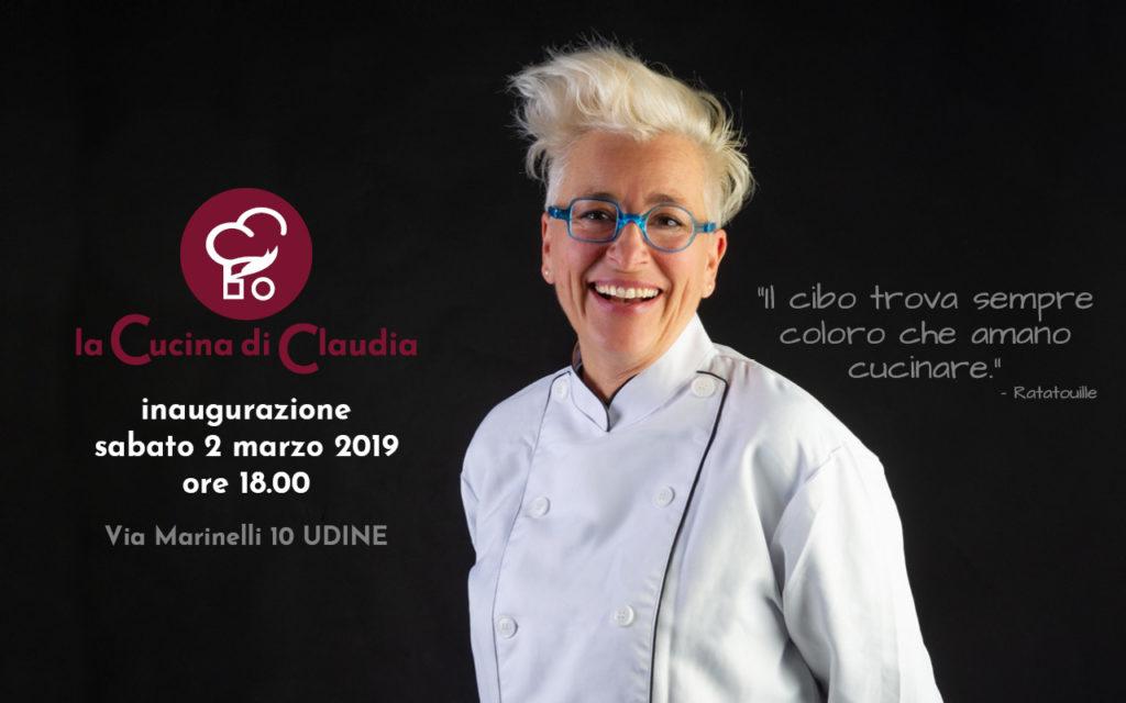 La Cucina di Claudia Udine Inaugurazione